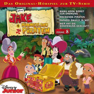 Jake und die Nimmerland-Piraten: Mama Hook sorgt für Ordnung / .. (Folge 8)