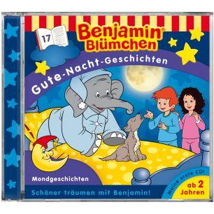 Benjamin Blümchen: Gute-Nacht-Geschichten - Mondgeschichten (Folge 17)