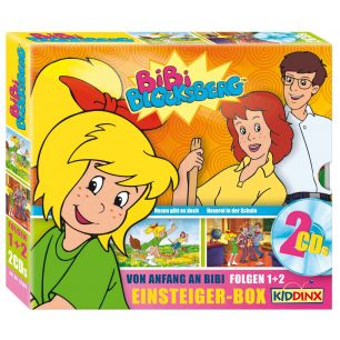 Bibi Blocksberg: 2er CD-Box Einsteiger-Box (cd)