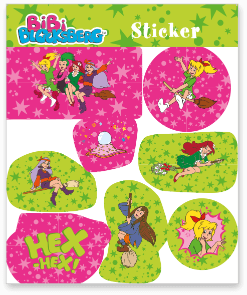 Bibi Blocksberg Sticker