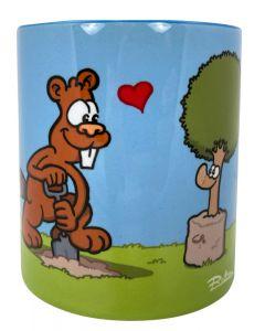 Ruthe: Tasse - Biber & Baum