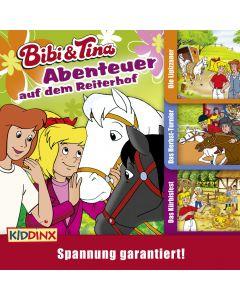 Bibi & Tina: 3er MP3-Box Abenteuer auf dem Martinshof