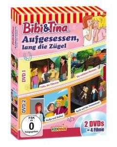 Bibi & Tina: 2er DVD-Box Aufgesessen, lang die Zügel
