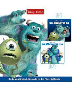 Disney: 2er MP3-Box Die Monster AG (Folge 1 -2)