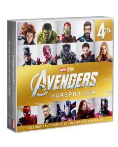 MARVEL: 4er Box The Avengers Hörspiel-Box