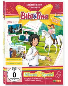 Bibi & Tina: 2er Box DVD+CD Mikosch-Special