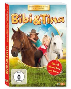 Bibi & Tina: 4er Box Kinofilm