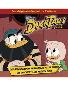 DuckTales: Der gefährlichste Spieleabend aller Zeiten / .. (Folge 09/mp3)