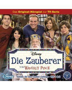 Die Zauberer vom Waverly Place: Gefahr für das Zauber-College / .. (Folge 7)