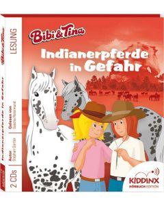 Bibi & Tina: Hörbuch Indianerpferde in Gefahr