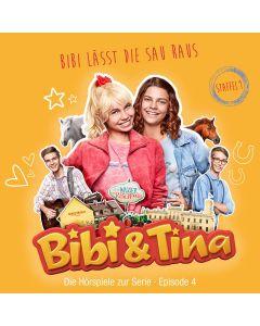 Bibi & Tina: Bibi lässt die Sau raus (Hörspiel zur Serie - Folge 4)