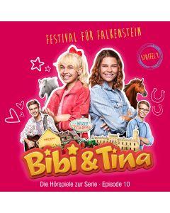 Bibi & Tina: Festival für Falkenstein (Hörspiel zur Serie - Folge 10)