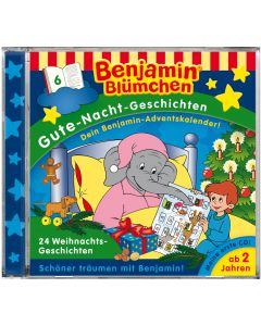 Benjamin Blümchen: Gute-Nacht-Geschichten - 24 Weihnachtsgeschichten (Folge 6)