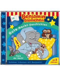 Benjamin Blümchen: Gute-Nacht-Geschichten - Tiere der Nacht (Folge 19)
