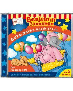 Benjamin Blümchen: Gute-Nacht-Geschichten - Das fliegende Bett (Folge 21)
