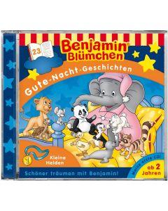 Benjamin Blümchen: Gute-Nacht-Geschichten - Kleine Helden (Folge 23)