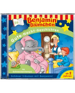Benjamin Blümchen: Gute-Nacht-Geschichten - Im Schneckentempo (Folge 26)