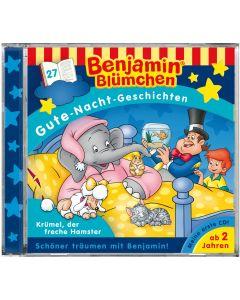 Benjamin Blümchen: Gute-Nacht-Geschichten - Krümel, der freche Hamster (Folge 27)