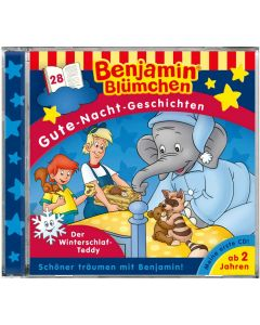 Benjamin Blümchen: Gute-Nacht-Geschichten - Der Winterschlaf-Teddy (Folge 28)