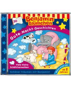 Benjamin Blümchen: Gute-Nacht-Geschichten - Viele kleine Schäfchenwolken (Folge 30)