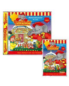 Benjamin Blümchen: Weihnachtsmarkt im Zoo (Folge 140)