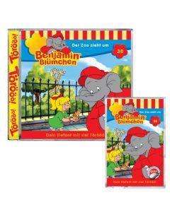 Benjamin Blümchen: Der Zoo zieht um (Folge 38)