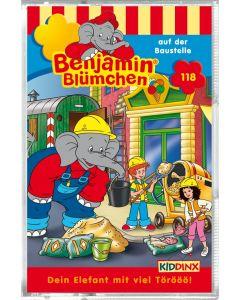 Benjamin Blümchen: auf der Baustelle (Folge 118/mc)