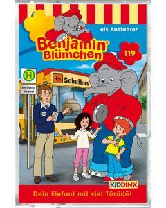 Benjamin Blümchen: als Busfahrer (Folge 119/mc)
