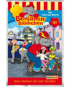Benjamin Blümchen: Die Fahrrad-Wette (Folge 121/mc)