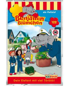 Benjamin Blümchen: als Polizist (Folge 122/mc)