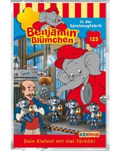 Benjamin Blümchen: in der Spielzeugfabrik (Folge 123/mc)