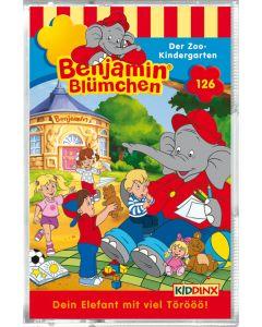 Benjamin Blümchen: Der Zoo-Kindergarten (Folge 126/mc)