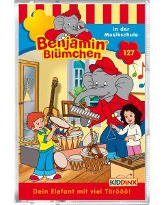Benjamin Blümchen: in der Musikschule (Folge 127/mc)