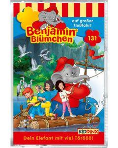 Benjamin Blümchen: auf großer Floßfahrt (Folge 131/mc)