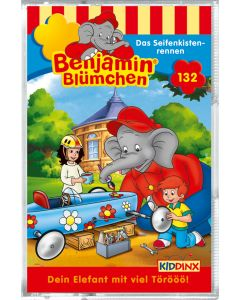 Benjamin Blümchen: Das Seifenkistenrennen (Folge 132/mc)