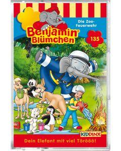 Benjamin Blümchen: Die Zoo-Feuerwehr (Folge 135/mc)