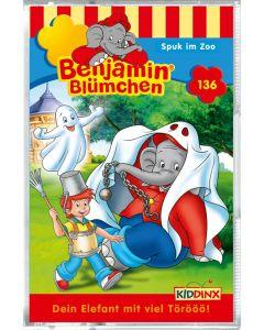 Benjamin Blümchen: Spuk im Zoo (Folge 136/mc)