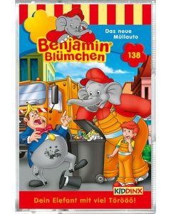 Benjamin Blümchen: Das neue Müllauto (Folge 138/mc)