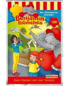 Benjamin Blümchen: Der Dinosaurierknochen (Folge 139/mc)