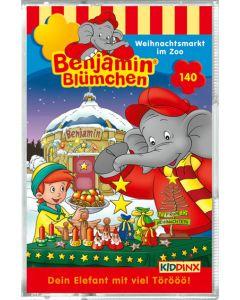 Benjamin Blümchen: Weihnachtsmarkt im Zoo (Folge 140/mc)