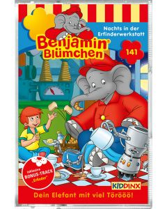 Benjamin Blümchen: Nachts in der Erfinderwerkstatt (Folge 141/mc)