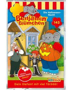 Benjamin Blümchen: Die Halloween-Nacht (Folge 143/mc)