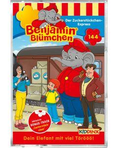 Benjamin Blümchen: Der Zuckerstückchen-Express (Folge 144/mc)