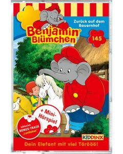 Benjamin Blümchen: Zurück auf dem Bauernhof (Folge 145/mc)