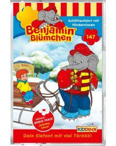 Benjamin Blümchen: Schlittenfahrt mit Hindernissen (Folge 147/mc)