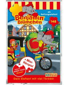 Benjamin Blümchen: als Rettungselefant (Folge 148/mc)