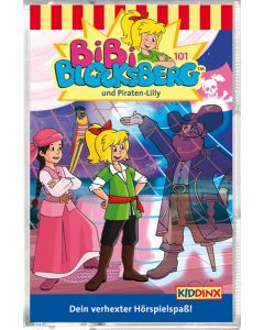 Bibi Blocksberg: und Piraten-Lilly (Folge 101/mc)