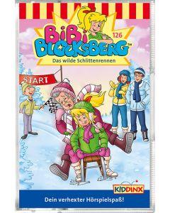 Bibi Blocksberg: Das wilde Schlittenrennen (Folge 126/mc)