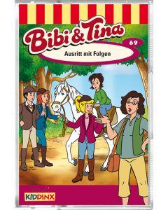 Bibi & Tina: Ausritt mit Folgen (Folge 69/mc)