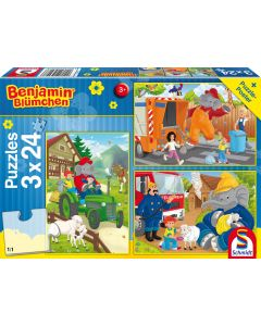 Benjamin Blümchen: Benjamin in Aktion - 3x 24 Teile